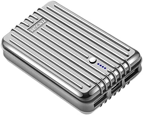 Zendure A3 Battería Externa 10000mAh (compacto y ligero, cargador de salida de 2.1A de 2 puertos con función de carga rápida para iPhone, Tablet, ...