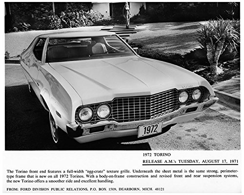 1972 Ford Torino Factory Photo