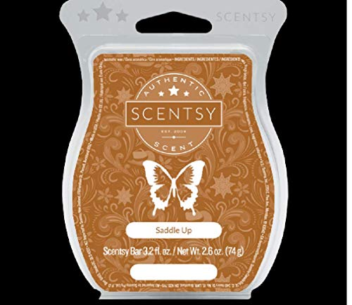 Scentsy Bar Scent of The Month - Saddle Up - May 2019 (3.2 Fl. Oz.)