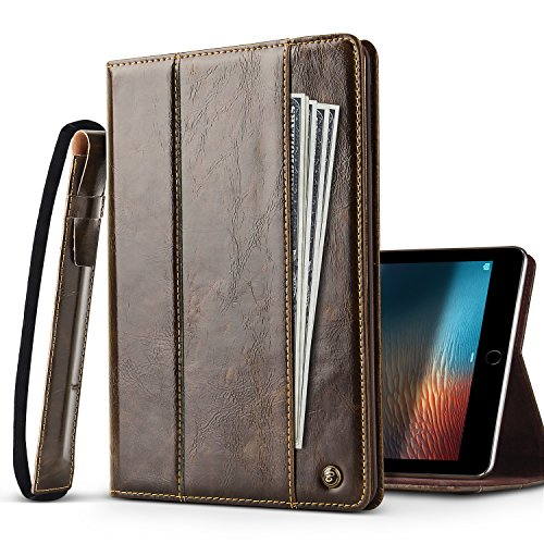iPad 9.7  Case - BELK  Business Leather Portfolio Smart Auto