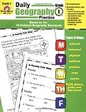 Daily Geography Practice Grade 1, Evan-Moor, 1557999708