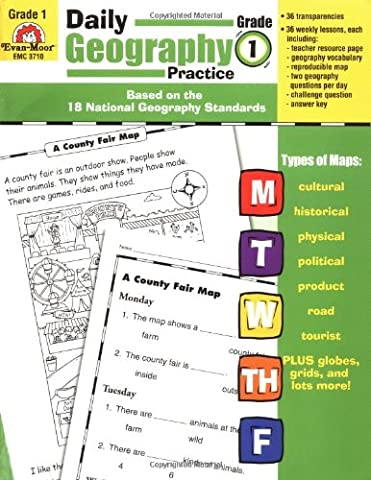 Daily Geography Practice, Grade 1 (Geography Practice)