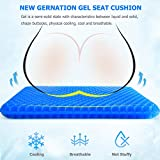 Gel Seat Cushion, Double Thick Egg Gel Cushion for