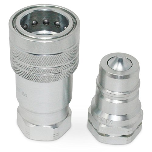 "1"" Agricultural Hydraulic Quick Connect Pioneer Style Coupler Set, ISO 5675, 1"" NPT - Fittings Summit An"