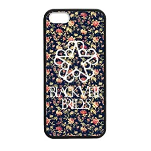 Fashion BVB Black Veil Brides Hard Snap-On Rubber Coated Cover Case for iPhone 5 / iPhone 5S by runtopwell