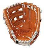 Louisville Slugger 11.75-Inch TPX HD9 Hybrid Defense Ball Glove - Orange/Gray (Right Hand Throw)
