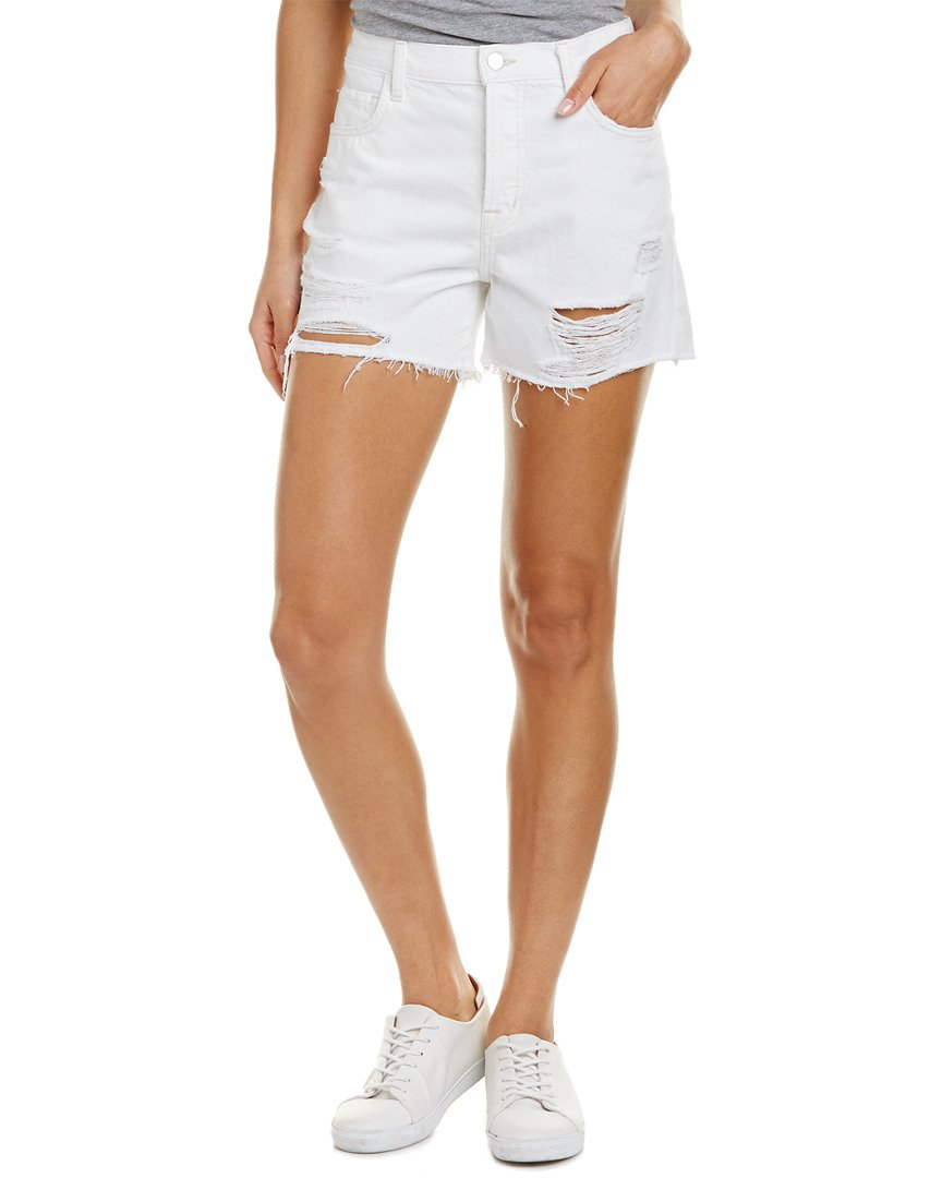J Brand Women's Ivy High Rise Shorts, Distract, 26