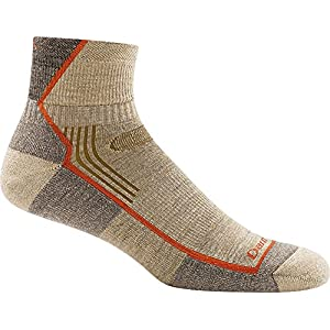 Darn Tough Hiker 1/4 Cushion Sock - Men's Oatmeal Medium