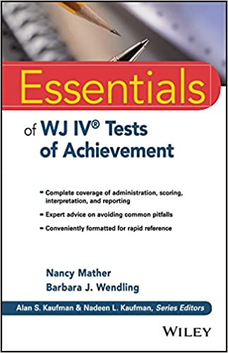 Amazon essentials of wj iv tests of achievement essentials of amazon essentials of wj iv tests of achievement essentials of psychological assessment ebook nancy mather barbara j wendling kindle store fandeluxe Images