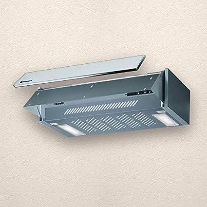 campana extractora para cocina aspirante mobiliario 60 cm Gris 01com060gr38: Amazon.es: Grandes electrodomésticos