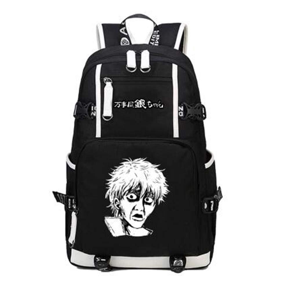 Unisex Anime Backpack Teenager School Bag Laptop Bag Travel Camping Daypack,C