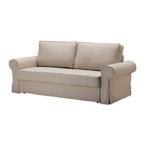 Amazon.com: Ikea Backabro Sofa Bed Slipcover Tygelsjo Beige ...