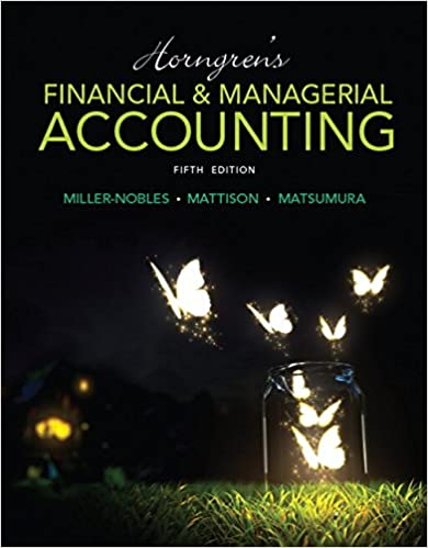 Horngrens financial managerial accounting 5th edition tracie l horngrens financial managerial accounting 5th edition 5th edition fandeluxe Gallery