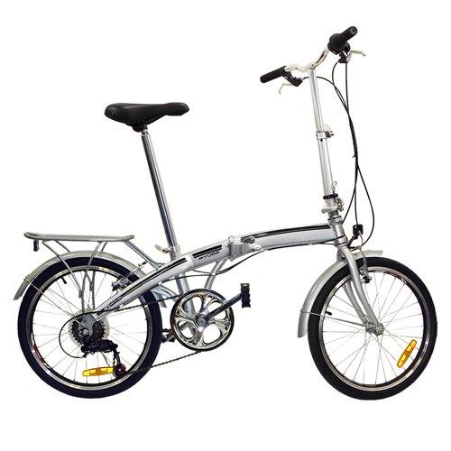 Best Choice Products Shimano 6 Speed Bike Fold Storage Foldi