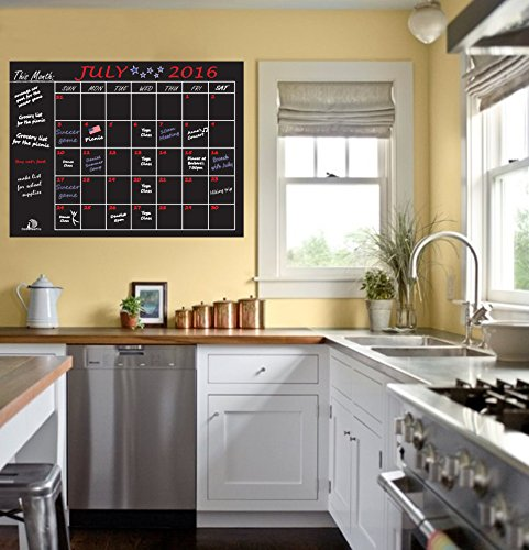 Dosensepro monthly calendar chalkboard planner organizer for Perfect kitchen sharjah