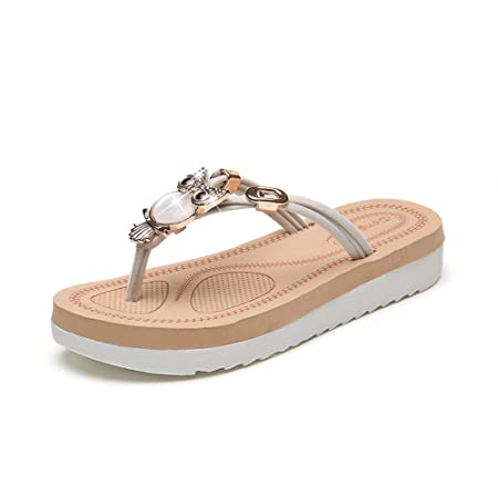 28998c9ef2c GOWOLD summer new student Korean version of the flat bottom flip flops  fashion wild non-