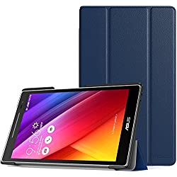 MoKo ASUS ZenPad 8.0 Case - Ultra Compact Slim Lightweight Smart Shell Stand Cover Case With Auto Wake / Sleep for ASUS ZenPad Z380M/Z380C/Z380KL 8.0 inch Tablet, INDIGO