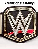 WWE Belt: Blank Lined Superhero Gift Journal - Notebook - Diary for Wrestling Fans