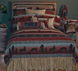 Wooded River WDT50 67 by 87-Inch Twin Bedspread