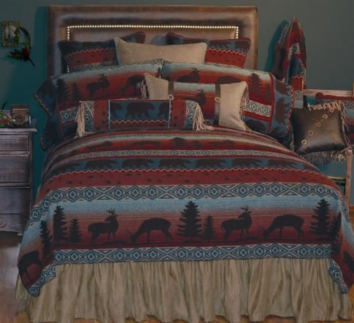 Wooded River WDT50 67 by 87-Inch Twin Bedspread by Wooded River