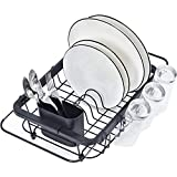 TOOLF Expandable Dish Drying Rack Over the Sink Adjustable Dish Rack...