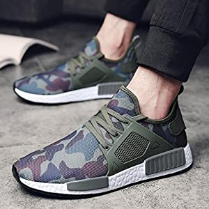 Men Outdoors Shoes,Hemlock Men's Athletic Shoes Casual Sneakers Running Breathable Sports Shoes