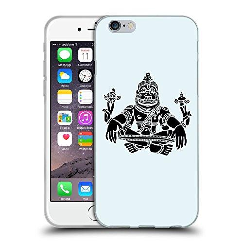 "GoGoMobile Coque de Protection TPU Silicone Case pour // Q08120619 Hindou 3 Bulles // Apple iPhone 6 4.7"""
