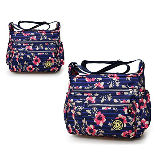 Sapphire Body Cross Shoulder Ladies Bag Tote Messenger Hobo Women Bag FUNOC Handbag aIxqRPpW