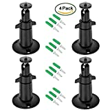 Arlo Mount/Arlo Pro Mount(4 Pack, Metal), BFYTN Security Camera Metal Wall/Ceiling Mount, Adjustable Indoor/Outdoor Mount for Arlo, Arlo Pro, CCTV Camera and Other Compatible Models (White)