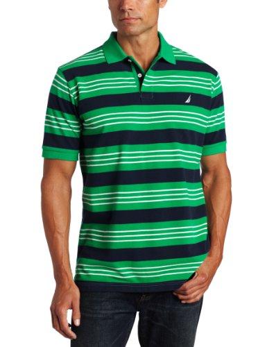 Nautica Mens Feed Stripe Shirt