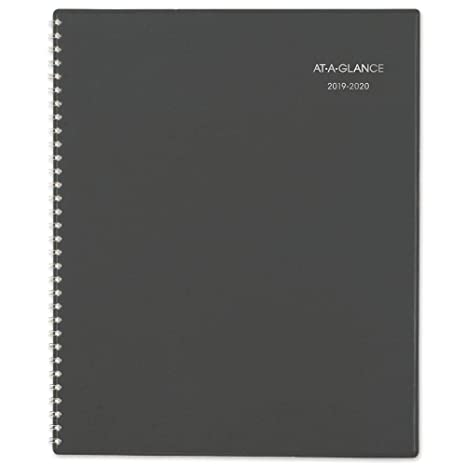 Amazon.com: at-A-Glance 2019-2020 Agenda semanal y mensual ...