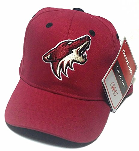 ew Reebok NHL Phoneix PHX Lil' Infant Baby Red Era Flex Fit Fitted Hat Cap ()