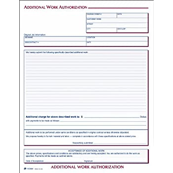AmazonCom  Adams Additional Work Authorization Forms  X