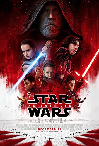 Star Wars The Last Jedi Movie Poster Limited Print Photo Daisy Ridley, John Boyega, Mark Hamill Size 24x36 #2 (Star Wars Last Jedi Release Date Usa)