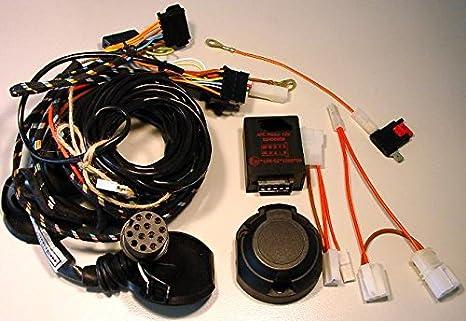 Jaeger Automotive 42250205 Remolque fijo Incluye fahrzeugspezifischer eléctrico de 13 pines Toyota Corolla Verso: Amazon.es: Coche y moto