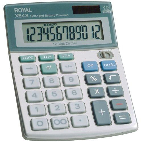 (Royal Compact Desktop Solar Calculator (29306S))