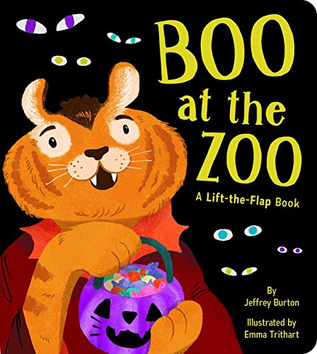 Boo at the Zoo: A Lift-the-Flap
