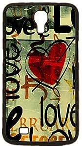 Graffiti art style Pattern Hard Case for Samsung Galaxy Mega 6.3 I9200 I9205 ( Sugar Skull )