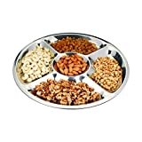 Cuisinox PLA-50 36cm Sectioned Serving Platter, Silver