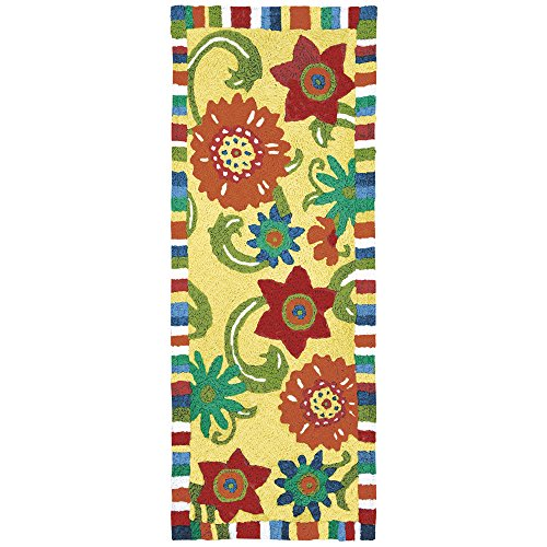 "Jellybean Fun Flowers - 21"" X 54"" Floral Garden Indoor Outdo"