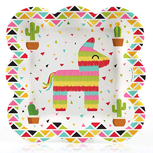 Let's Fiesta - Mexican Fiesta Dinner Plates (16 Count)]()