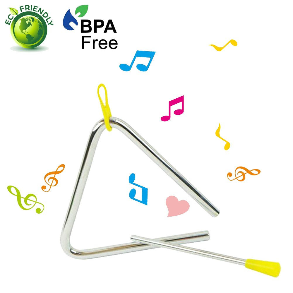 Triangle-Triangle Instrument-Triangle Musical Instruments -Triangle Musical Instruments And Beaters Officecool INC 4334203150