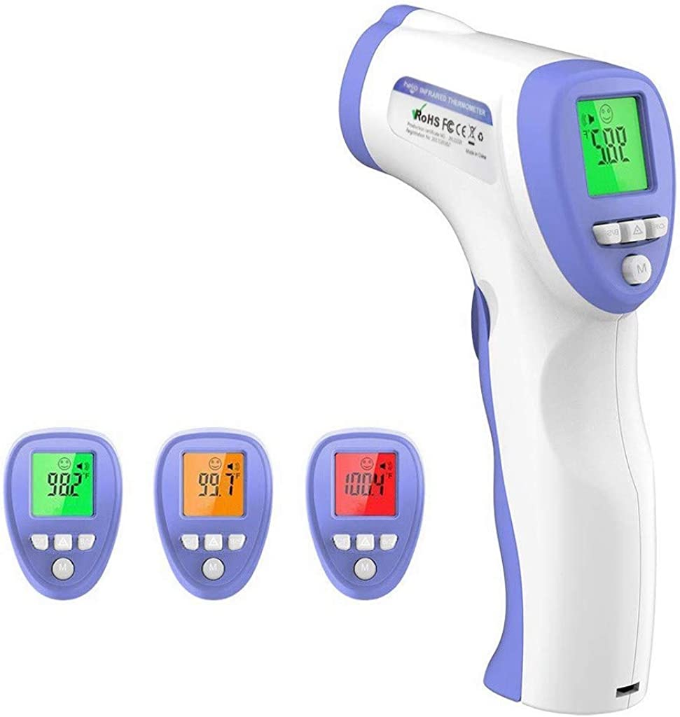 Non Contact Forehead ermometer, IR Digital Body Temperature Tools, LCD Digital Instant Results Auto Power Off