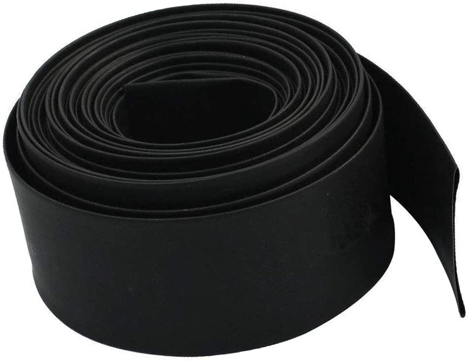 32.8 Ft Aodesy 20mm 0.8inch Diameter Heat Shrink Tubing 2:1 Ratio Marine Shrink Tube Wire Sleeving Wrap Protector Black 10M