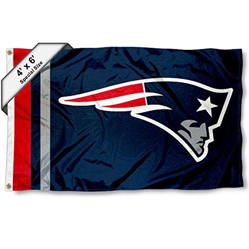 WinCraft New England Patriots 4' x 6' Foot Flag