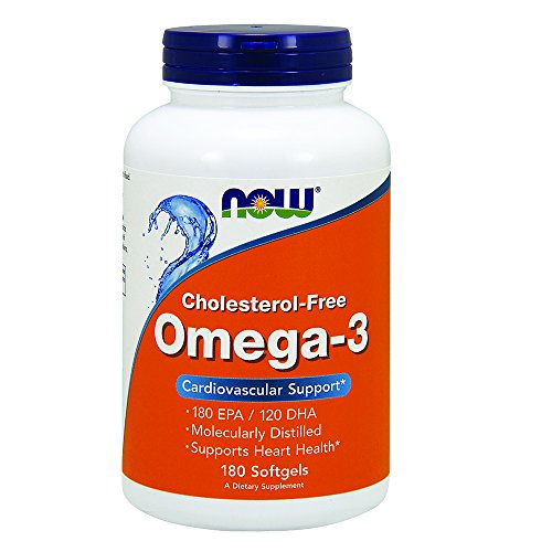 NOW Omega 3 Molecularly Distilled Softgels