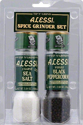 Alessi Salt and Pepper Grinder - 2 per pack - 6 packs per case.