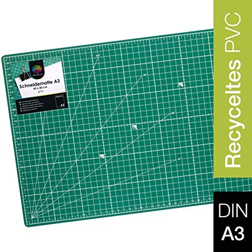 A3 ARTS /& CRAFTS CUTTING MAT 450mm x 300mm SURFACE PROTECTION SILVERLINE 456147