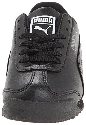 Noir Jr Puma Roma Baskets Synthétique noir Basic fP6qS