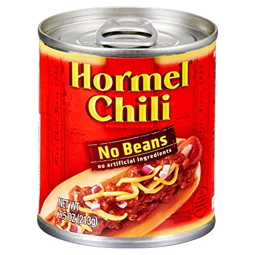 Hormel Chili No Beans, 7.5 Ounce (Pack of 12) (Best Chili Without Beans)